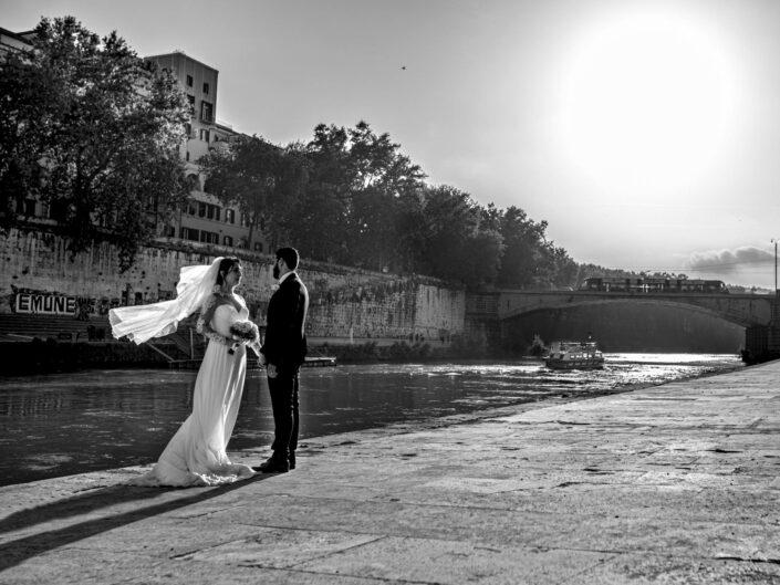 Servizio Fotografico di Matrimonio Basilica di Santa Cecilia a Roma