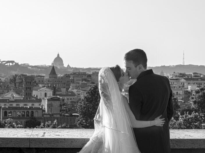 Servizio Fotografico di Matrimonio a Villa Rosantica