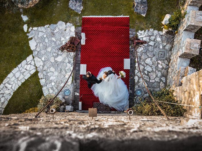 Servizio Fotografico di Matrimonio al Castello Rocca dei Cavalieri